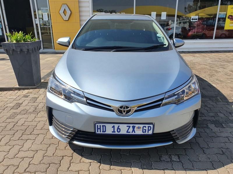 2017 Toyota Corolla 1.6 Prestige CVT Gauteng Vereeniging_0