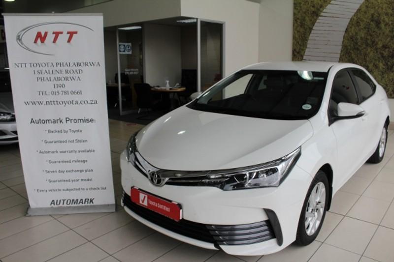 2017 Toyota Corolla 1.4D Prestige Limpopo Phalaborwa_0