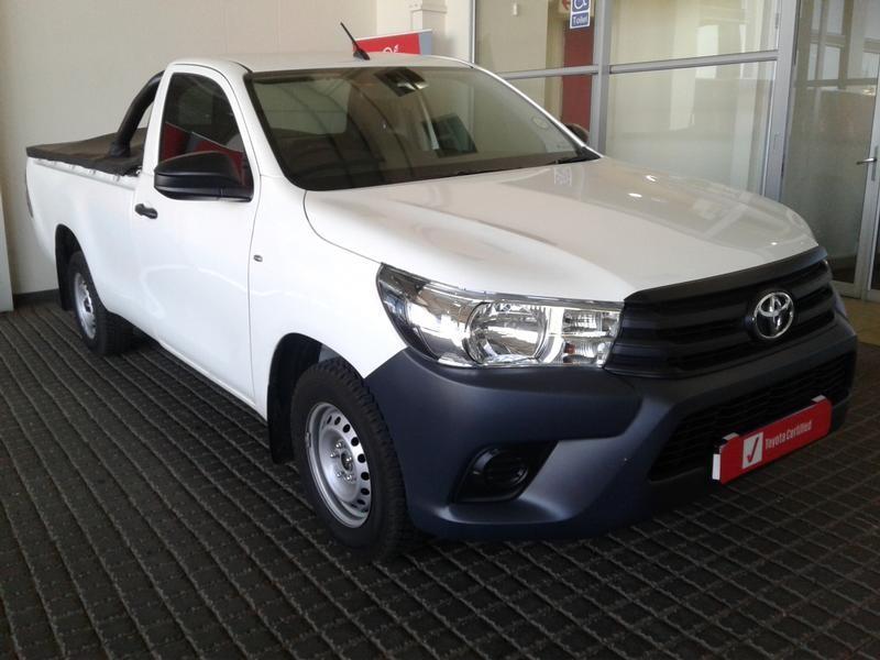 2020 Toyota Hilux 2.0 VVTi AC Single Cab Bakkie Gauteng Rosettenville_0