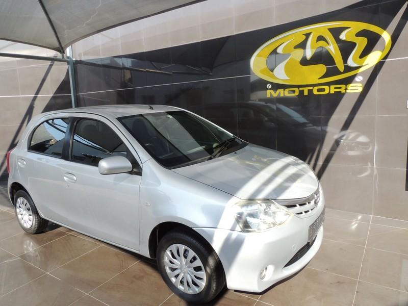 2012 Toyota Etios 1.5 Xs  Gauteng Vereeniging_0