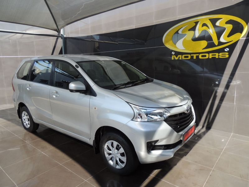 2017 Toyota Avanza 1.3 SX Gauteng Vereeniging_0