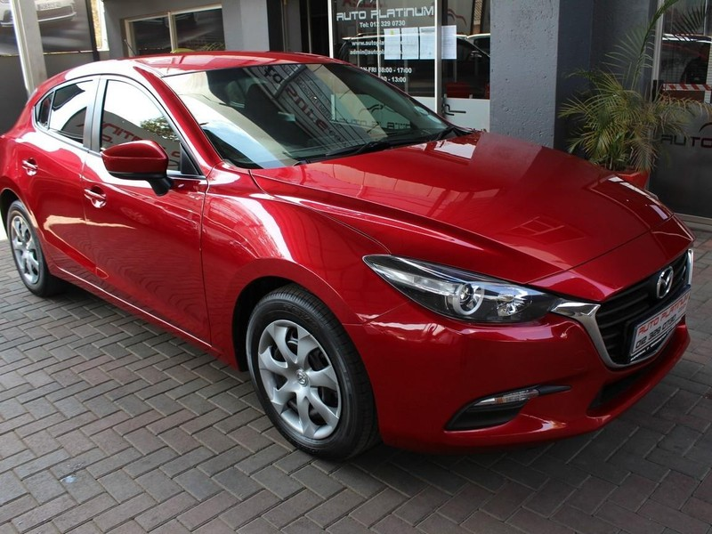 2017 Mazda 3 1.6 Original 5-door Gauteng Pretoria_0