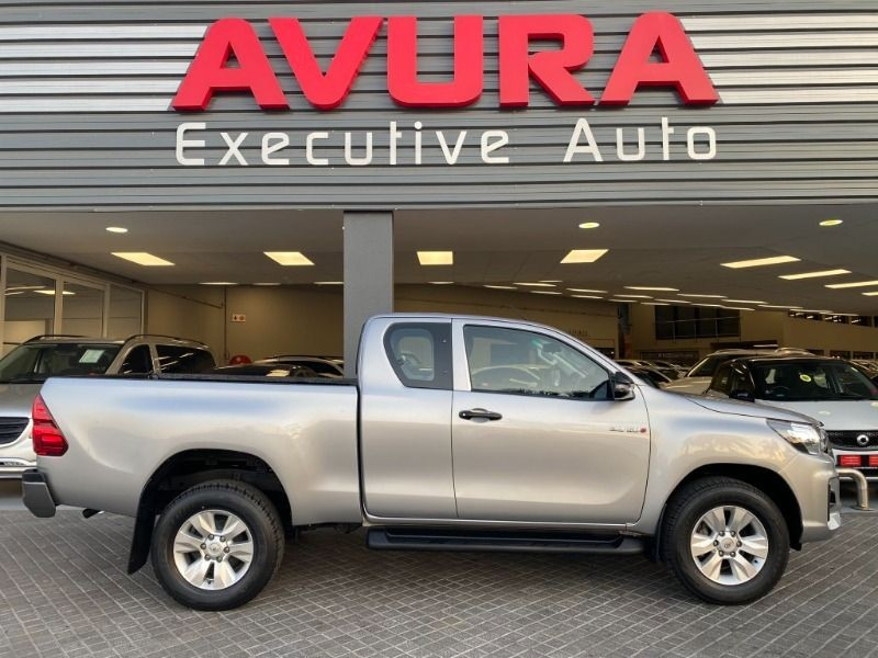 2018 Toyota Hilux 2.4 GD-6 RB SRX PU ECAB North West Province Rustenburg_0