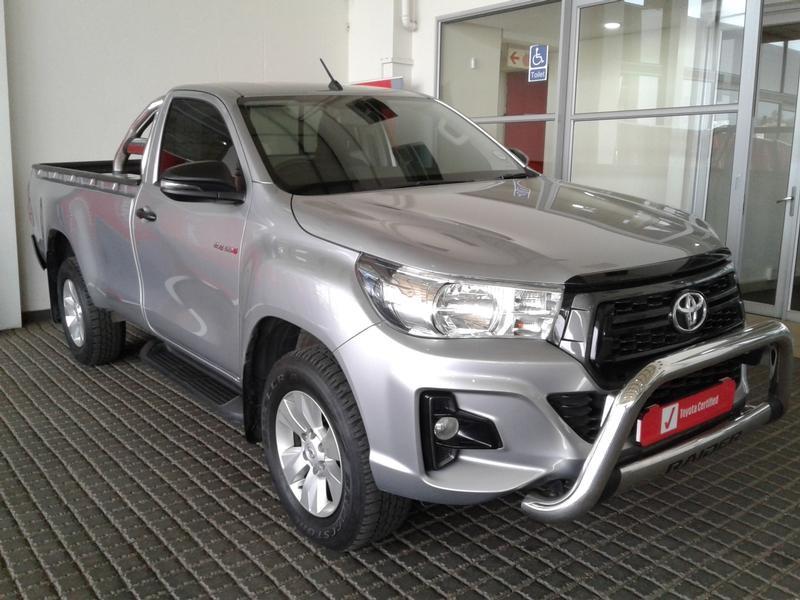 2019 Toyota Hilux 2.4 GD-6 SRX 4X4 Single Cab Bakkie Gauteng Rosettenville_0