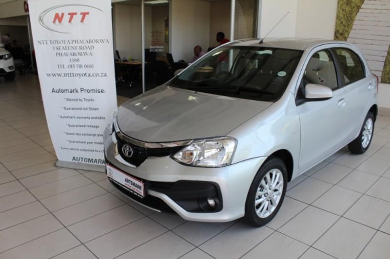 2020 Toyota Etios 1.5 Xs 5dr  Limpopo Phalaborwa_0