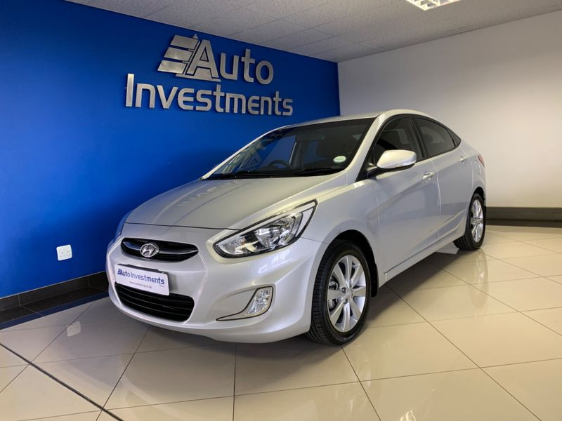 2015 Hyundai Accent 1.6 Gls  Gauteng Vanderbijlpark_0