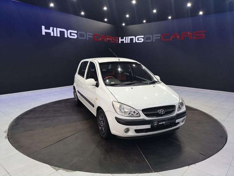 2010 Hyundai Getz 1.4 Sr  Gauteng Boksburg_0