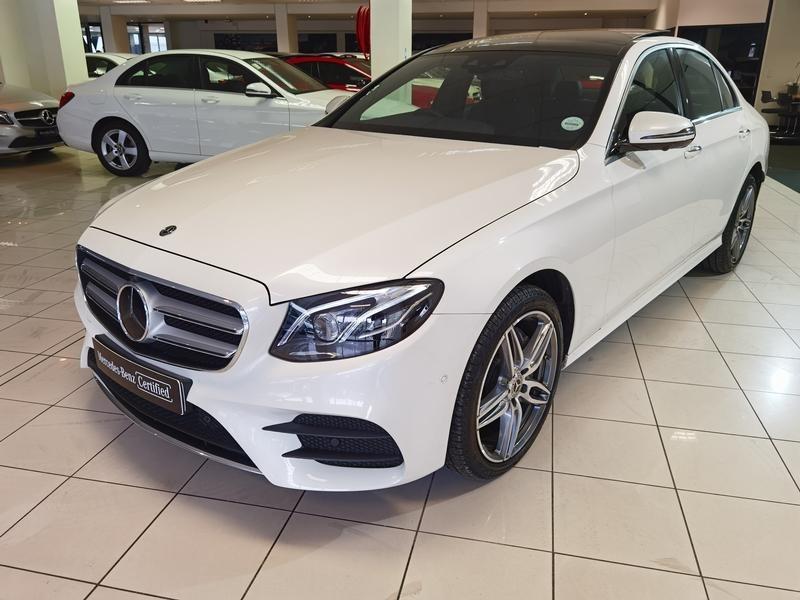 2020 Mercedes-Benz E-Class E 220d AMG Western Cape Cape Town_0