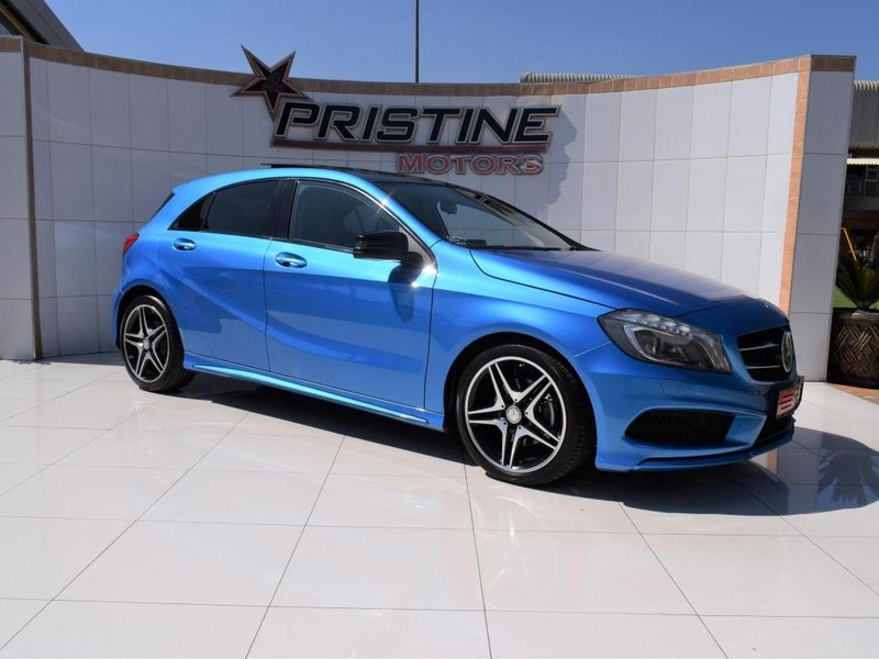 2014 Mercedes-Benz A-Class A 180 Be AMG Sport At  Gauteng De Deur_0