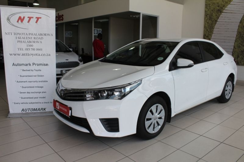 2016 Toyota Corolla 1.6 Esteem Limpopo Phalaborwa_0