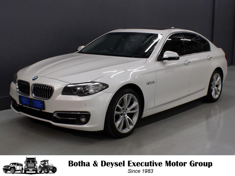 2016 BMW 5 Series 520D Auto Luxury Line Gauteng Vereeniging_0