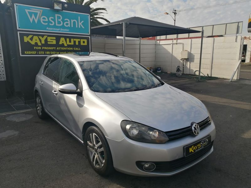 2010 Volkswagen Golf Vi 1.4 Tsi Comfortline  Western Cape Athlone_0