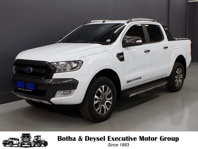 2018 Ford Ranger 3.2TDCi WILDTRAK Auto Double Cab Bakkie Gauteng Vereeniging_0
