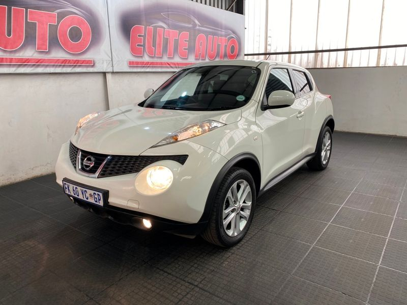 2012 Nissan Juke 1.6 Acenta   Gauteng Vereeniging_0