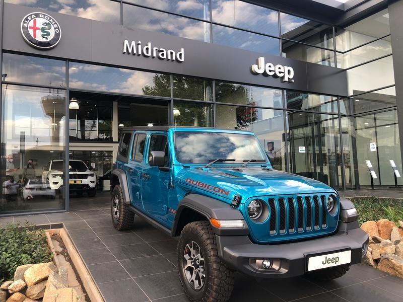 2020 Jeep Wrangler UNLTD Rubicon 3.6 V6 Gauteng Midrand_0