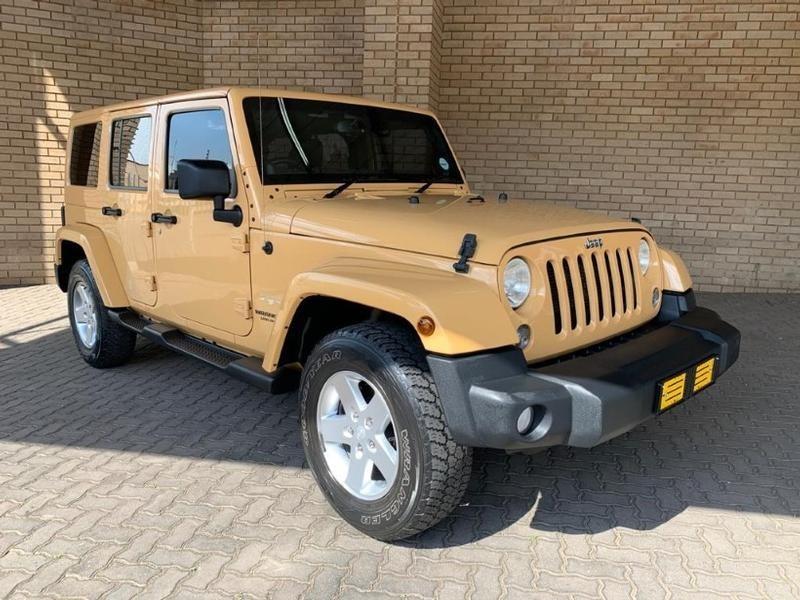 2014 Jeep Wrangler Unlimited 3.6l V6 At  Gauteng Johannesburg_0