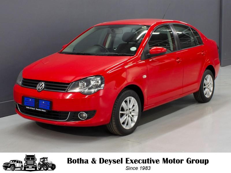 2016 Volkswagen Polo Vivo GP 1.6 Comfortline Gauteng Vereeniging_0