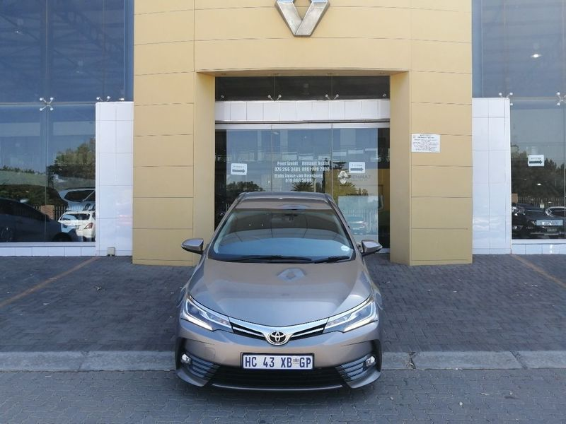 2017 Toyota Corolla 1.8 Exclusive CVT Gauteng Vereeniging_0