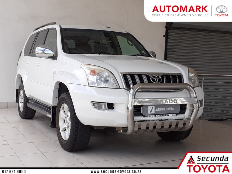 2006 Toyota Prado Vx 4.0 V6 At  Mpumalanga Secunda_0