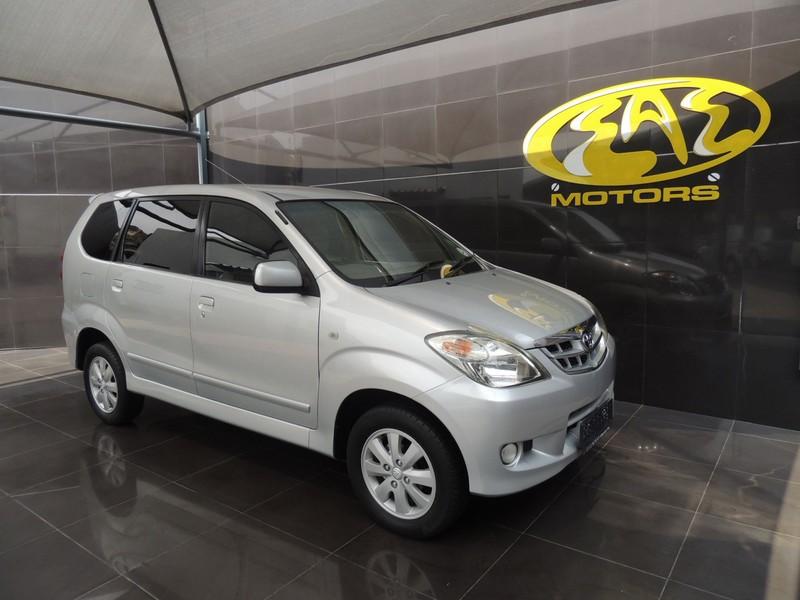 2008 Toyota Avanza 1.5 Tx  Gauteng Vereeniging_0