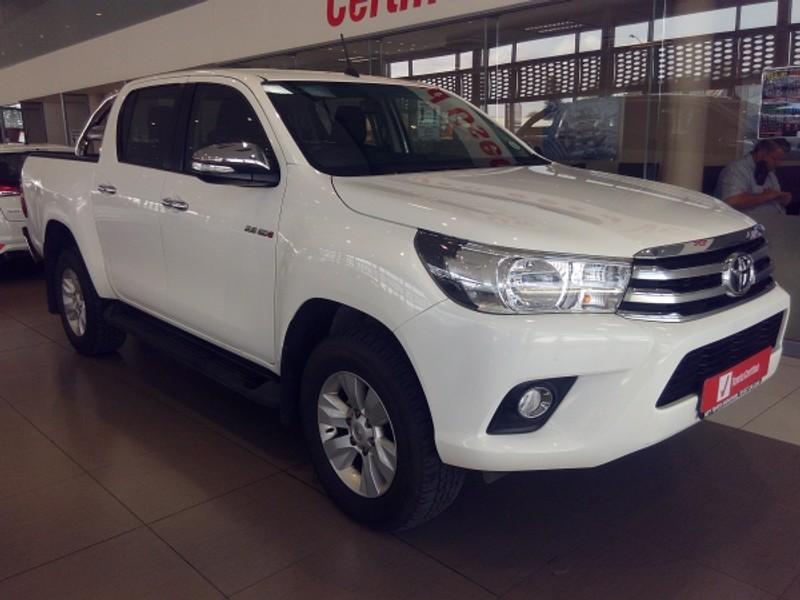 2017 Toyota Hilux 2.8 GD-6 RB Raider Double Cab Bakkie Limpopo Mokopane_0