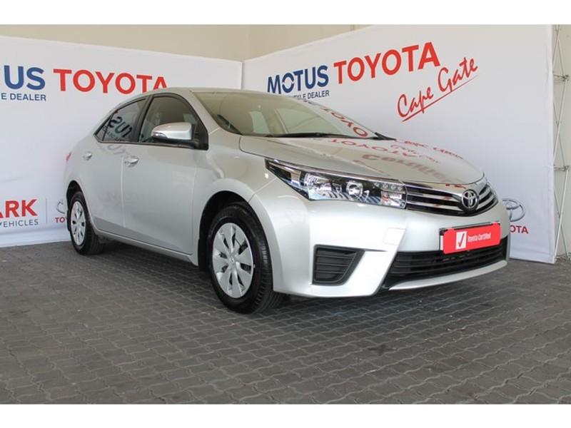 2016 Toyota Corolla 1.6 Esteem Western Cape Brackenfell_0