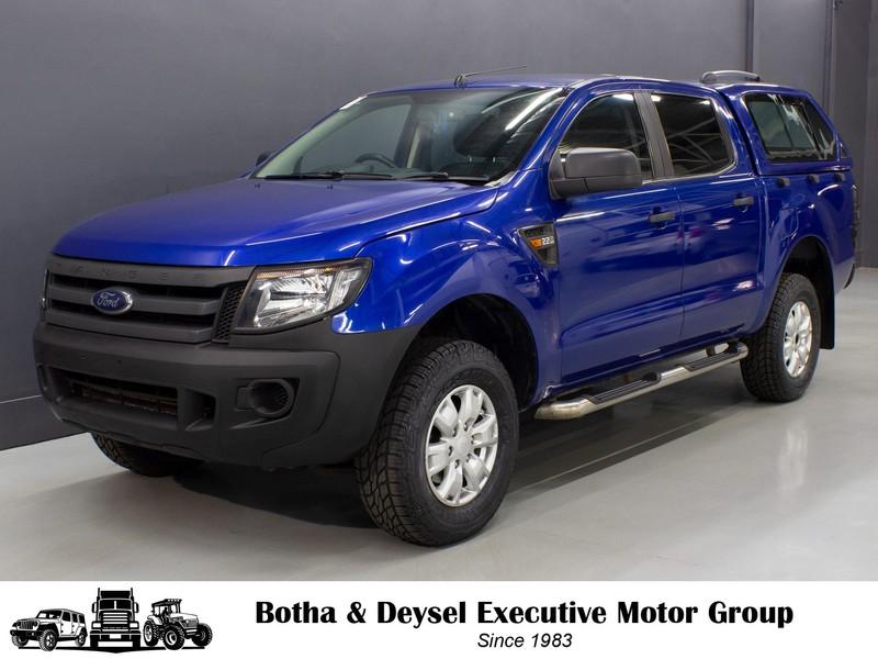2016 Ford Ranger 2.2tdci Xl Pu Dc  Gauteng Vereeniging_0