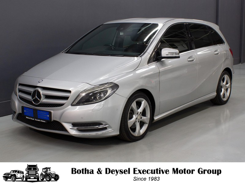 2012 Mercedes-Benz B-Class B 180 Cdi Be At  Gauteng Vereeniging_0