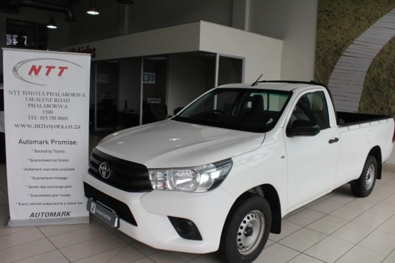 2018 Toyota Hilux 2.4 GD Single Cab Bakkie Limpopo Phalaborwa_0