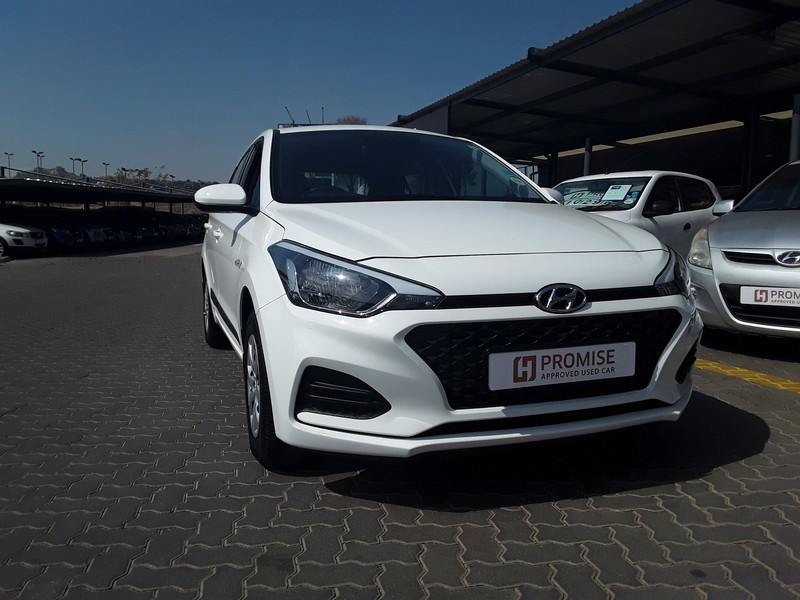 2020 Hyundai i20 1.2 Motion Gauteng Roodepoort_0