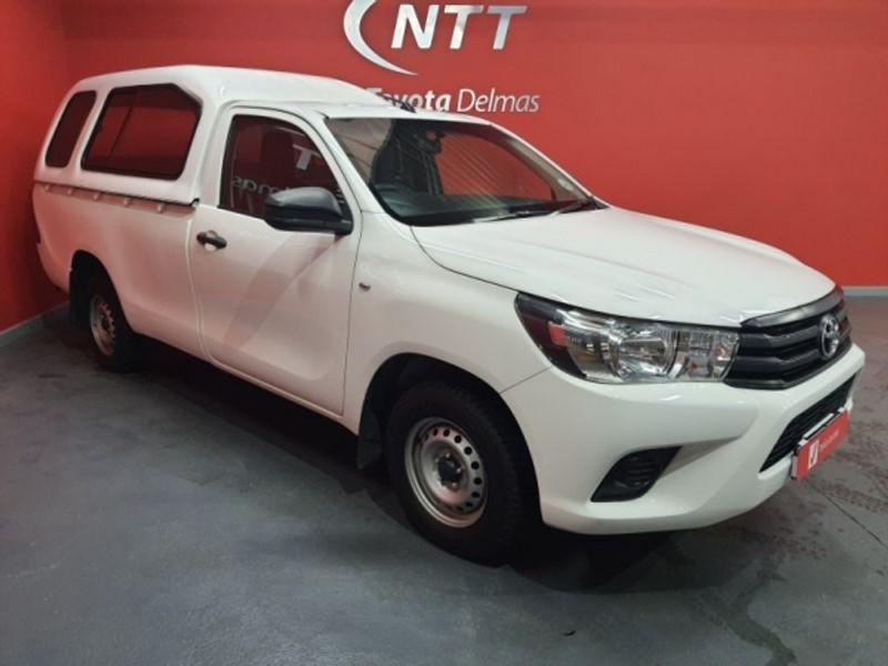 2017 Toyota Hilux 2.0 VVTi AC Single Cab Bakkie Mpumalanga Delmas_0