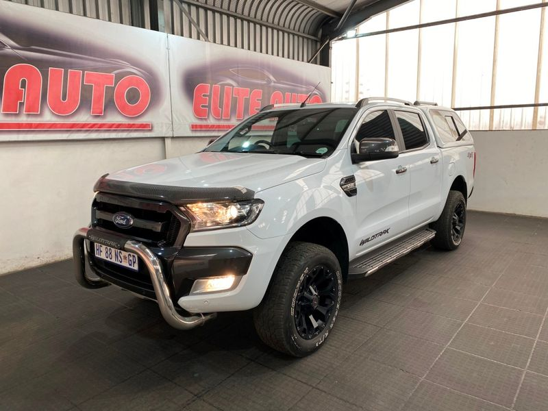 2018 Ford Ranger 3.2TDCi 3.2 WILDTRAK 4X4 Auto Double Cab Bakkie Gauteng Vereeniging_0