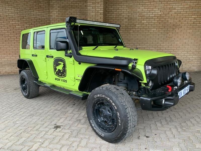 2017 Jeep Wrangler Unlimited 3.6l V6 At  Gauteng Johannesburg_0