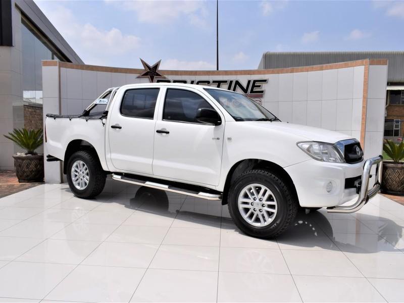 2011 Toyota Hilux 2.5d-4d Srx 4x4 Pu Dc  Gauteng De Deur_0