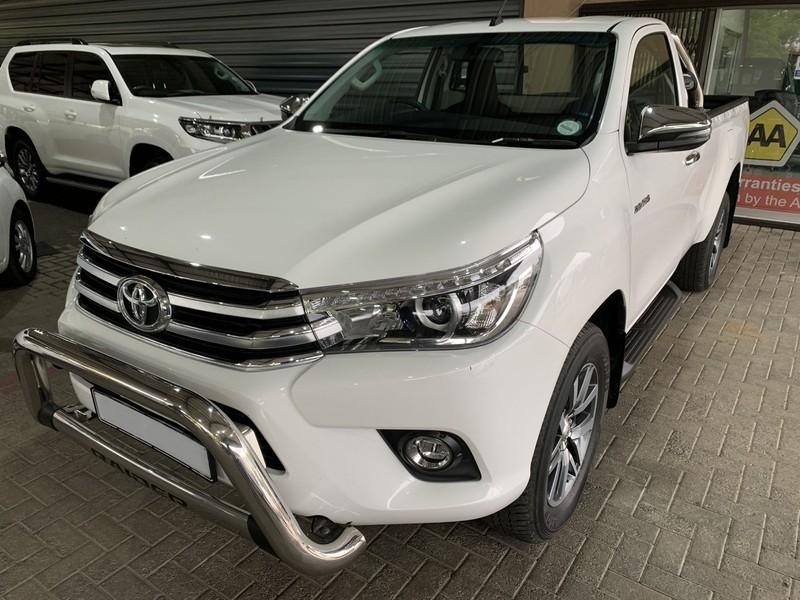 2018 Toyota Hilux 2.8 GD-6 RB Raider Single Cab Bakkie Mpumalanga Secunda_0