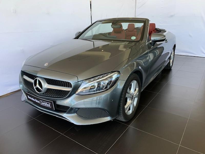 2017 Mercedes-Benz C-Class C200 Cabriolet Auto Western Cape Paarl_0