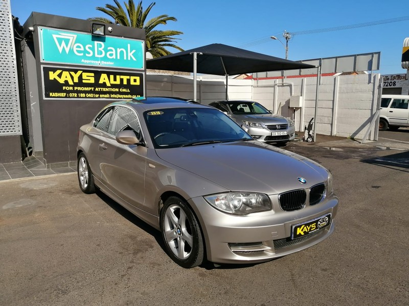 2010 BMW 1 Series 125i Coupe  Western Cape Athlone_0