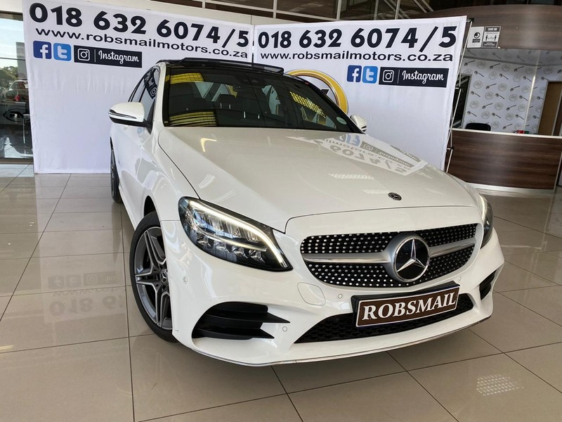 2019 Mercedes-Benz C-Class C 180k Sport At  North West Province Lichtenburg_0