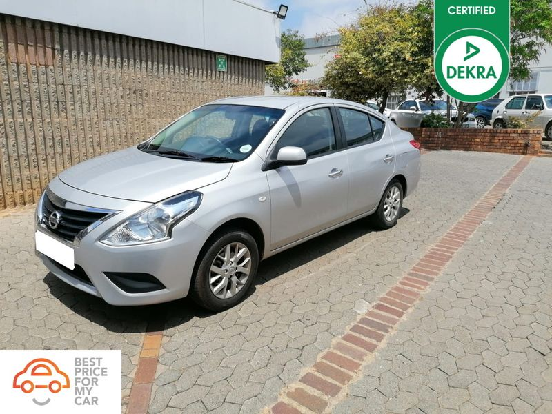 2018 Nissan Almera 1.5 Acenta Gauteng Pretoria_0