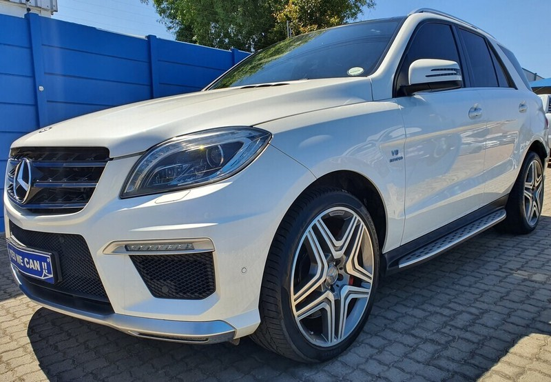 2015 Mercedes-Benz M-Class Ml 63 Amg  Western Cape Kuils River_0