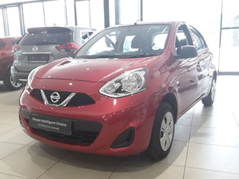 2020 Nissan Micra 1.2 Active Visia Free State Bloemfontein_0