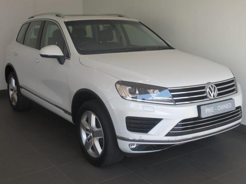 2015 Volkswagen Touareg GP 4.2 V8 TDI EXEC TIP Gauteng Johannesburg_0