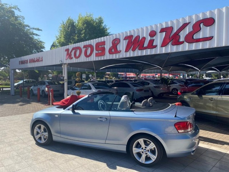 2010 BMW 1 Series 125i Convertible At  Gauteng Vanderbijlpark_0