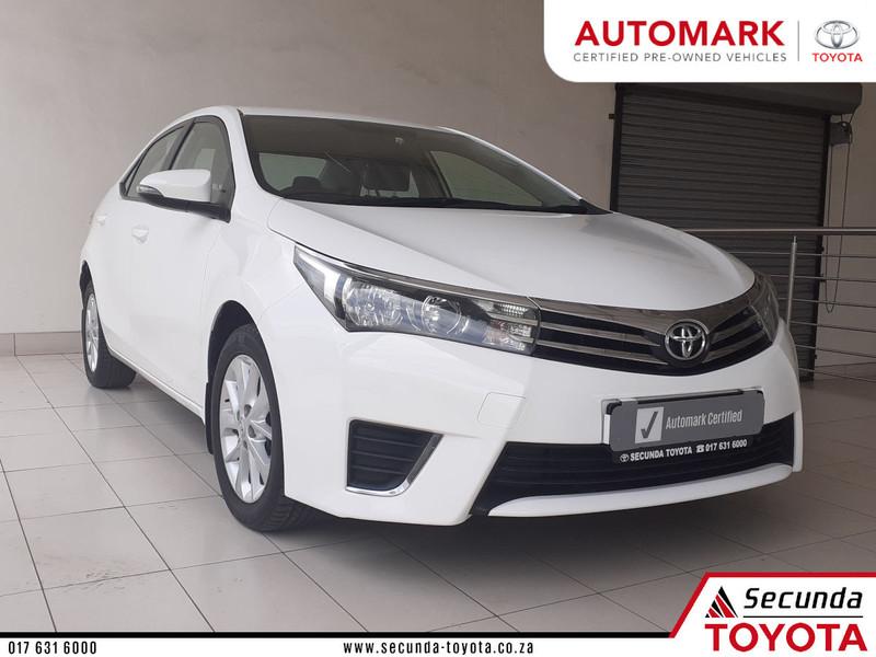 2015 Toyota Corolla 1.6 Prestige Mpumalanga Secunda_0