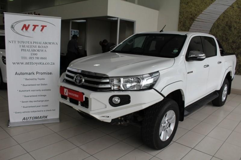 2017 Toyota Hilux 2.8 GD-6 Raider 4X4 Double Cab Bakkie Auto Limpopo Phalaborwa_0