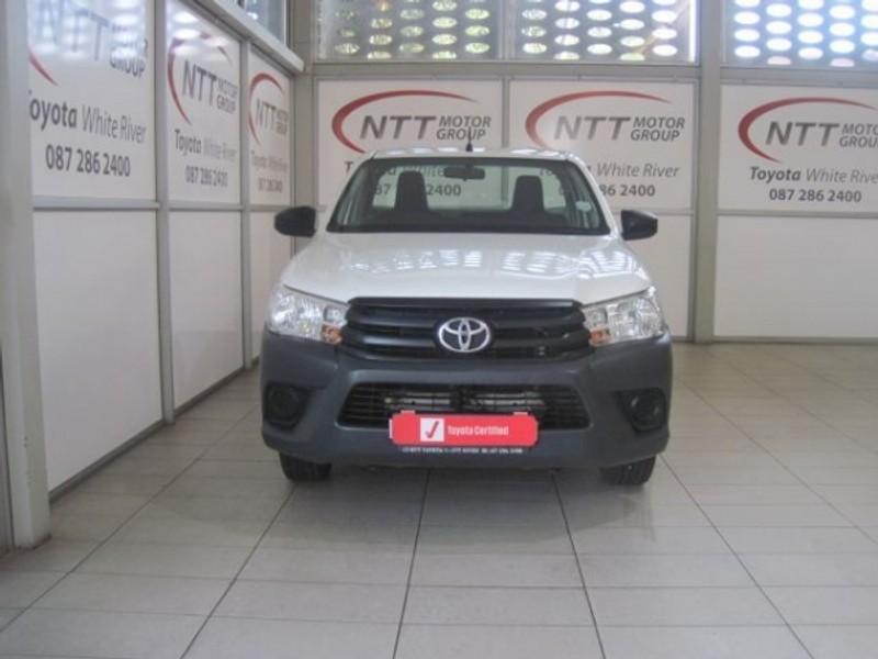 2019 Toyota Hilux 2.0 VVT Single Cab Bakkie Mpumalanga White River_0