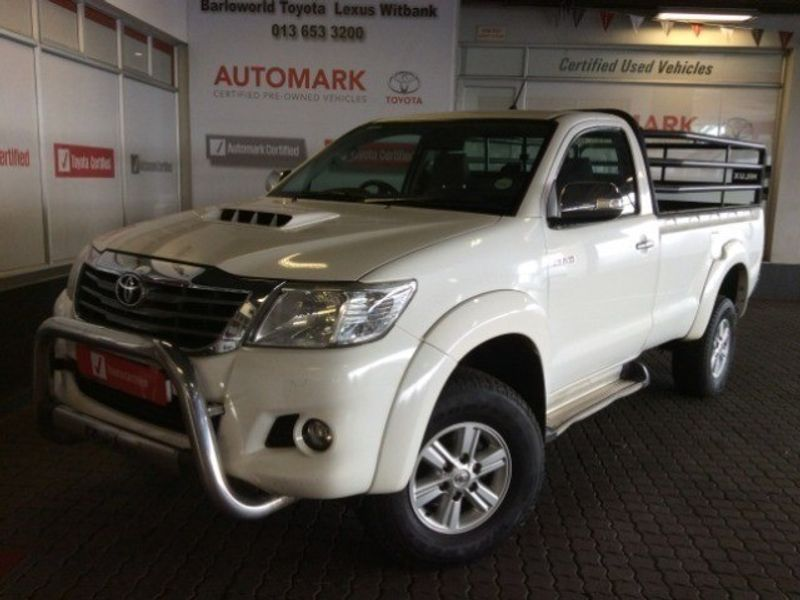 2014 Toyota Hilux 3.0 D-4d Raider 4x4 Pu Sc  Mpumalanga Witbank_0