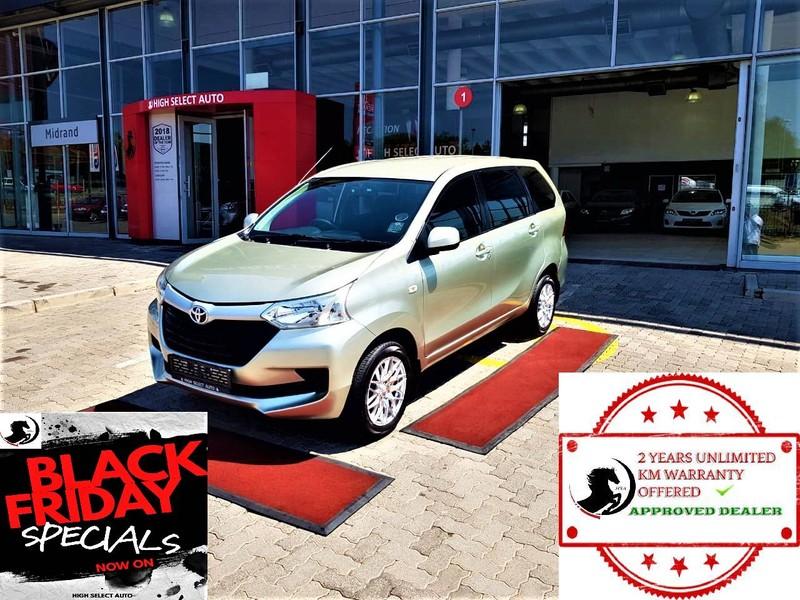 2018 Toyota Avanza 1.3 SX EXECUTIVE 7 SEATER Gauteng Midrand_0