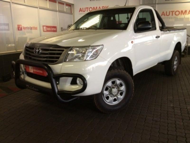 2014 Toyota Hilux 2.5 D-4d Srx 4x4 Pu Sc  Mpumalanga Witbank_0