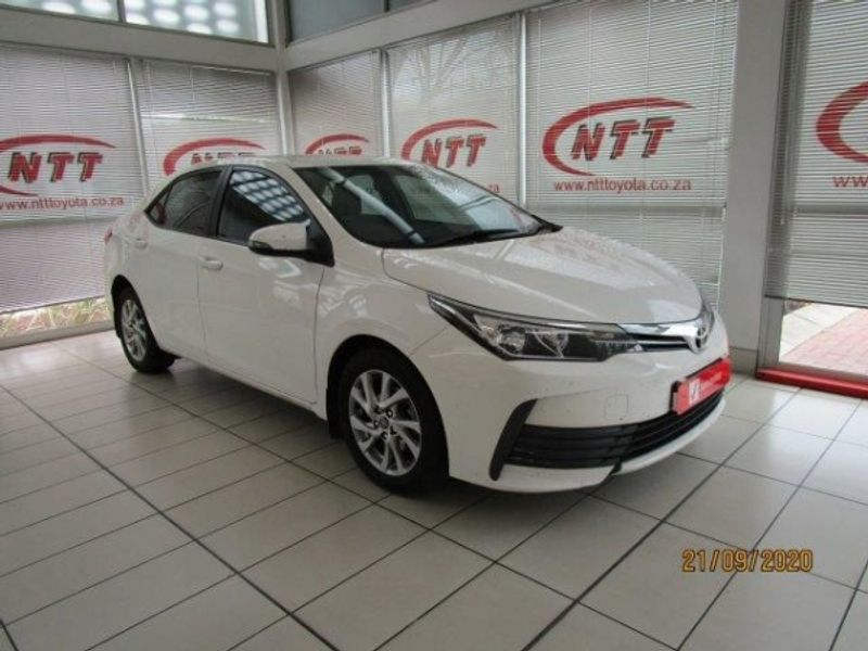 2019 Toyota Corolla 1.4D Prestige Mpumalanga Hazyview_0